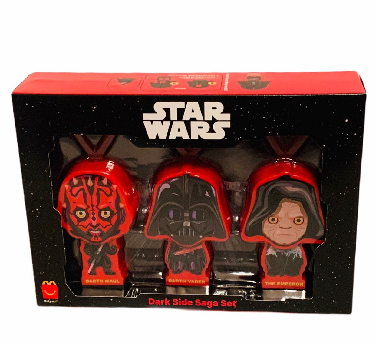 Star Wars figure Dark side sith Mcdonald