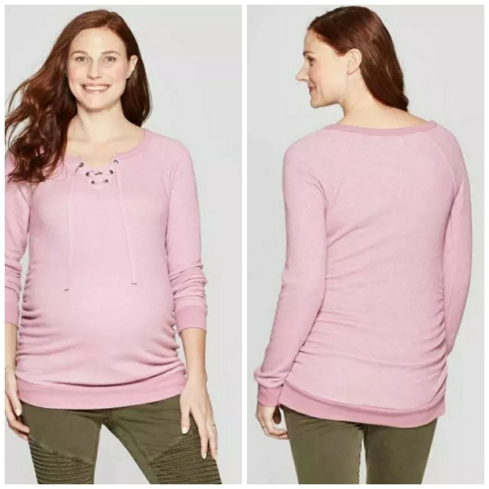 Isabel Maternity Sweatshirt Small