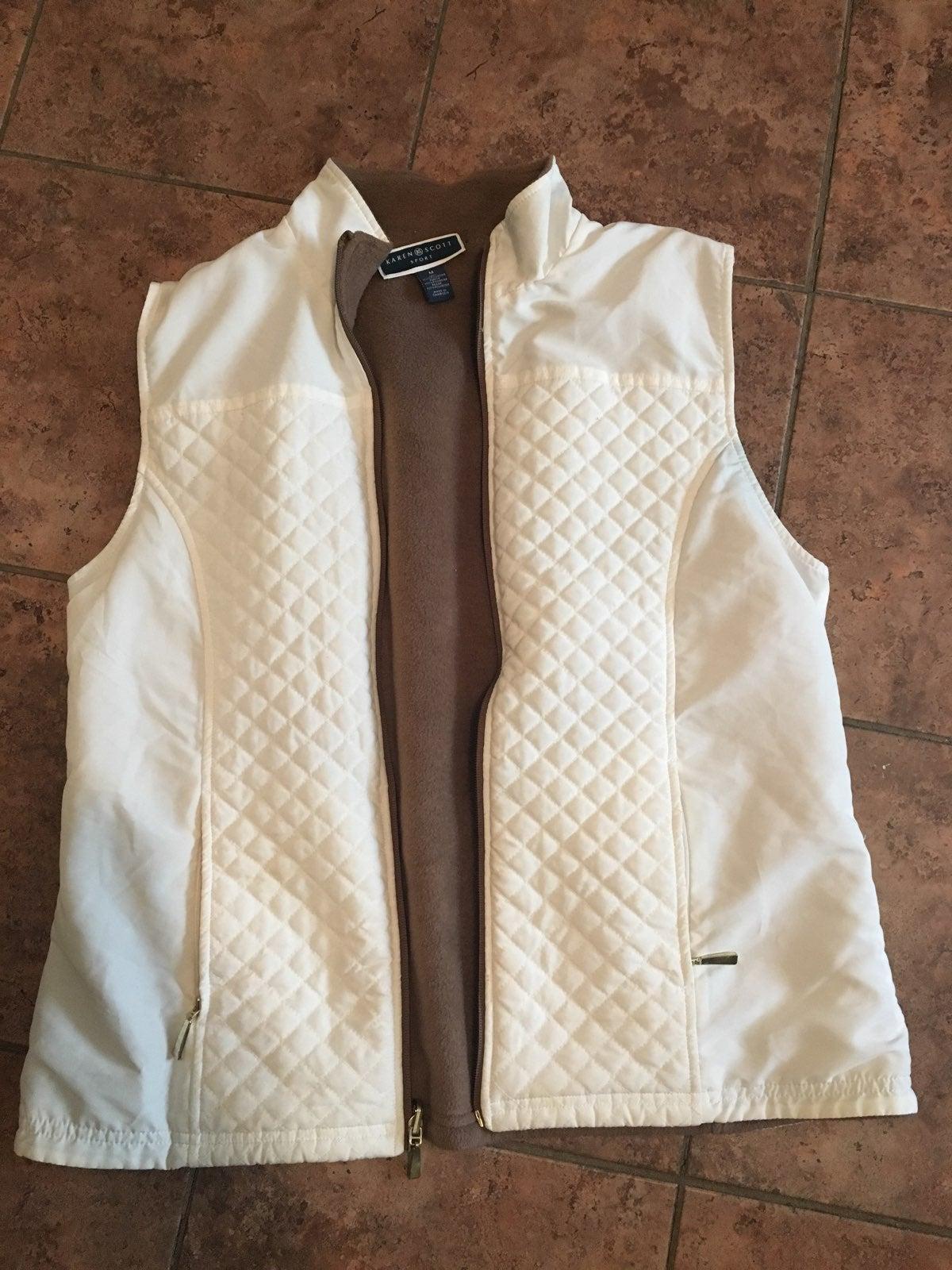 Cream Colored Vest