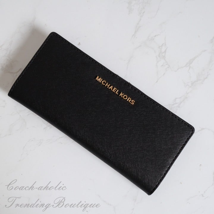NWT Michael Kors Flat Slim Bifold Wallet