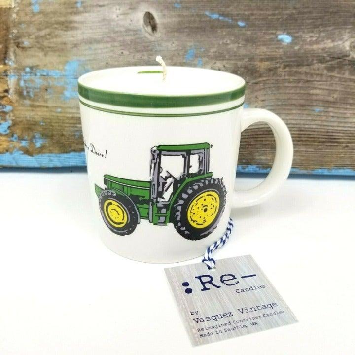 Candle John Deere Coffee Mug Cup Gift