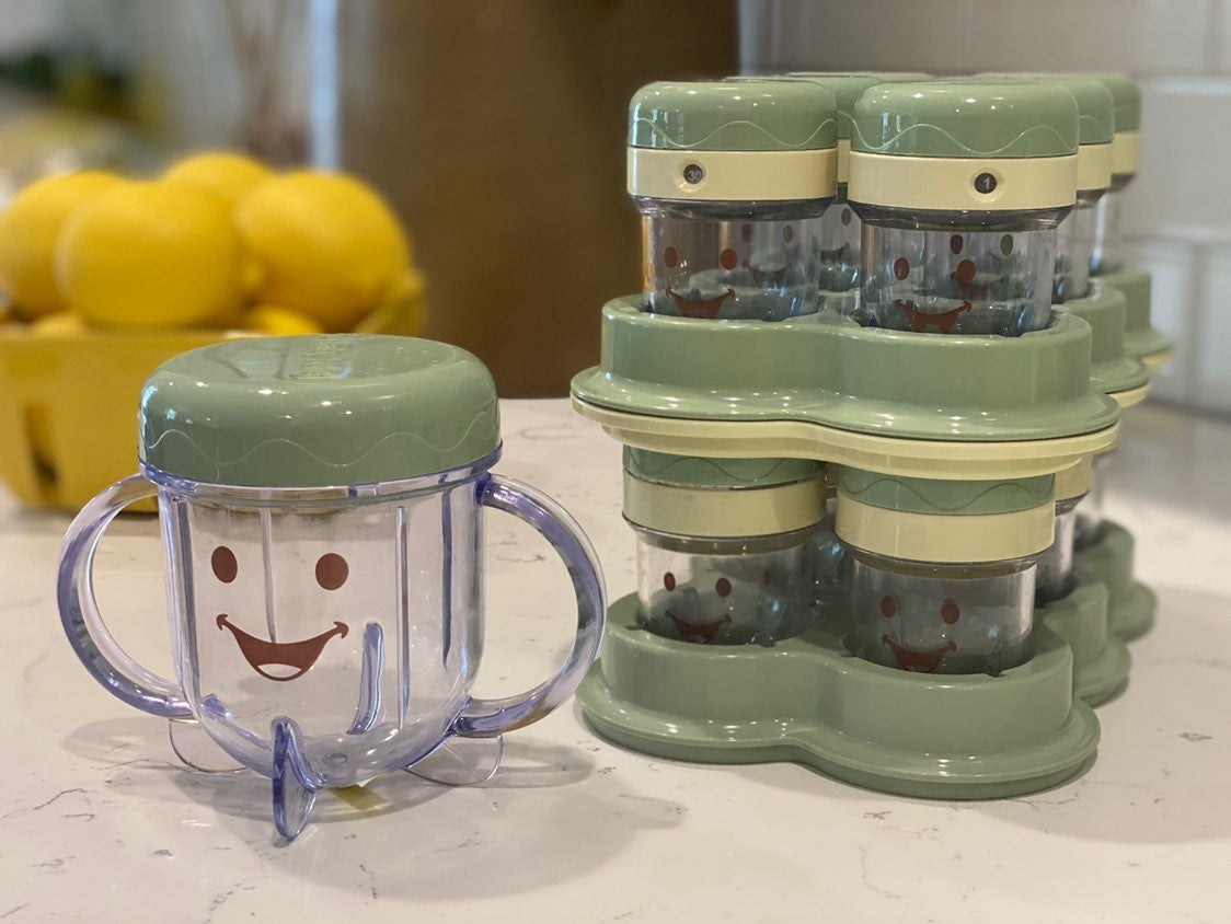 Baby Bullet Baby Food Jars and tray