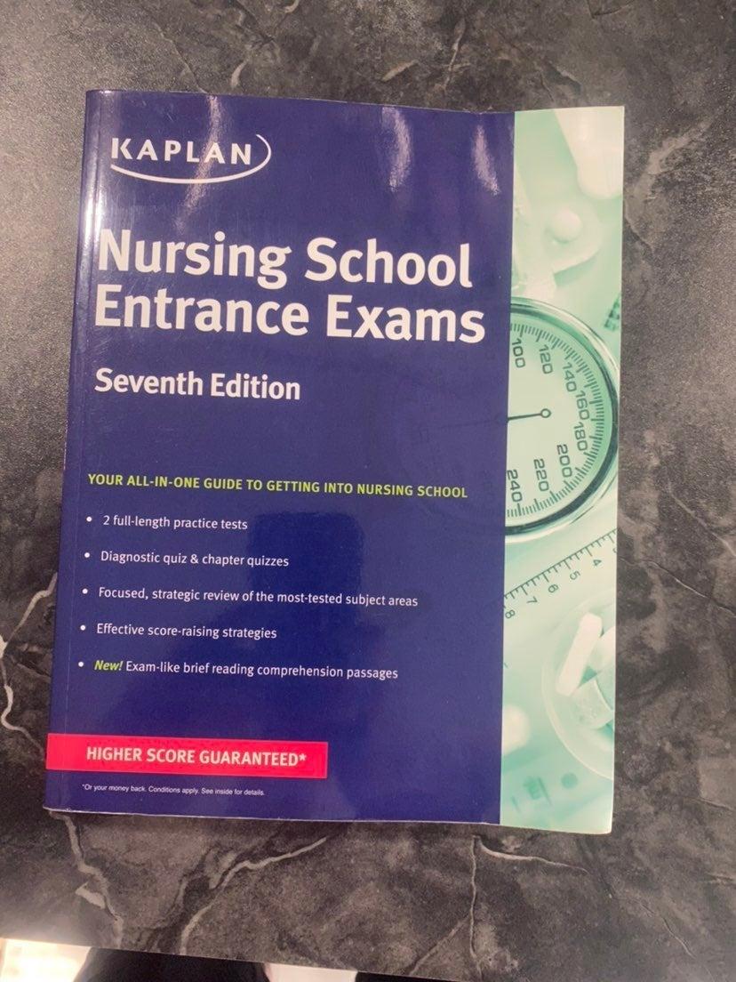 Kaplan Nursing School Entrance Exams 7th