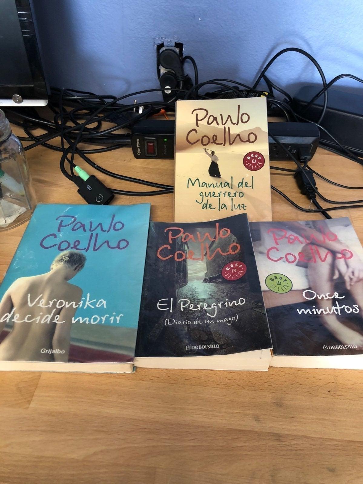 Books in spanish paulo coelho