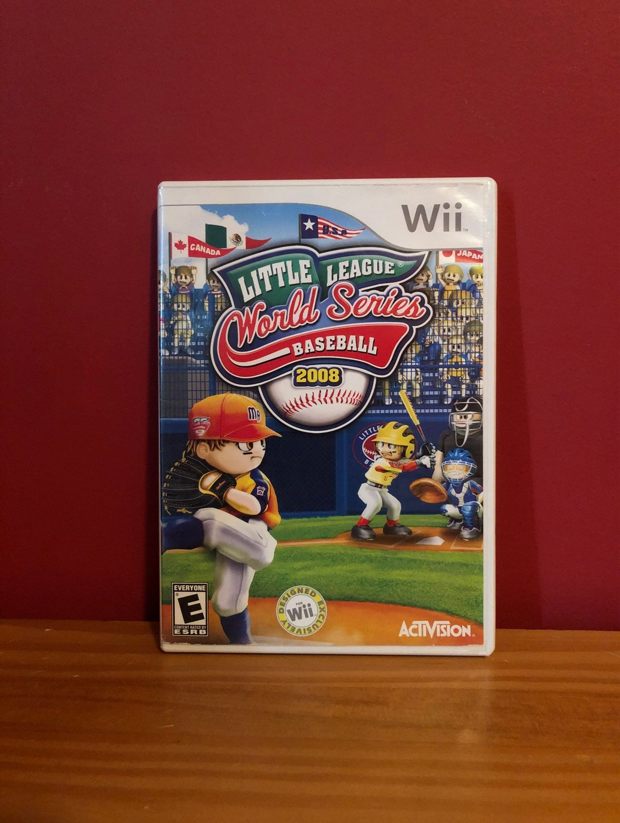 LL World Series Baseball Wii game