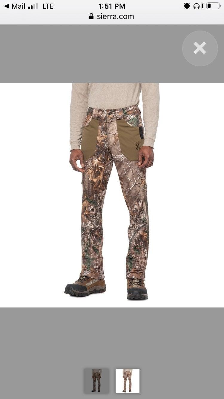 Browning Hunting Pants Waterproof 42