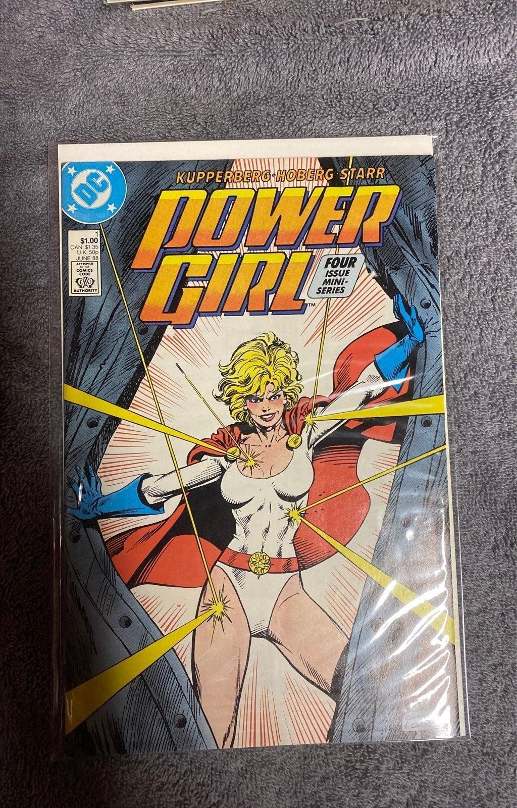 Power girl comic