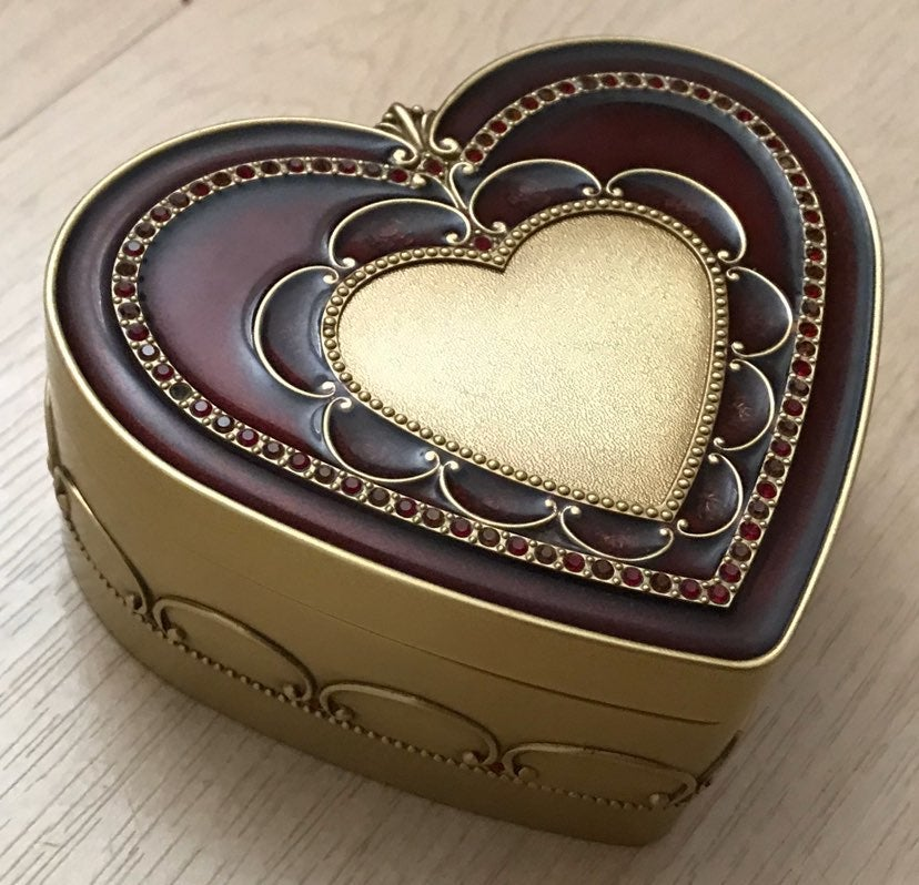 Swarovski Heart-Shaped Jewelry Box
