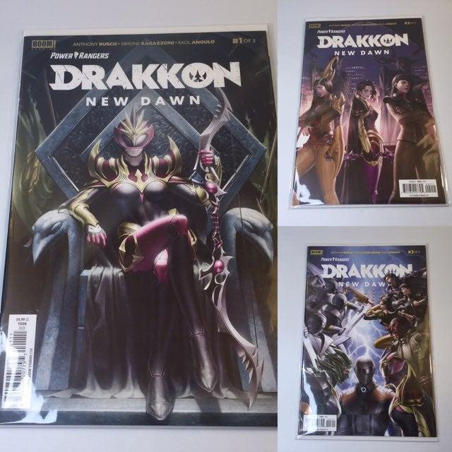 Power Rangers Drakkon New Dawn Comic Lot