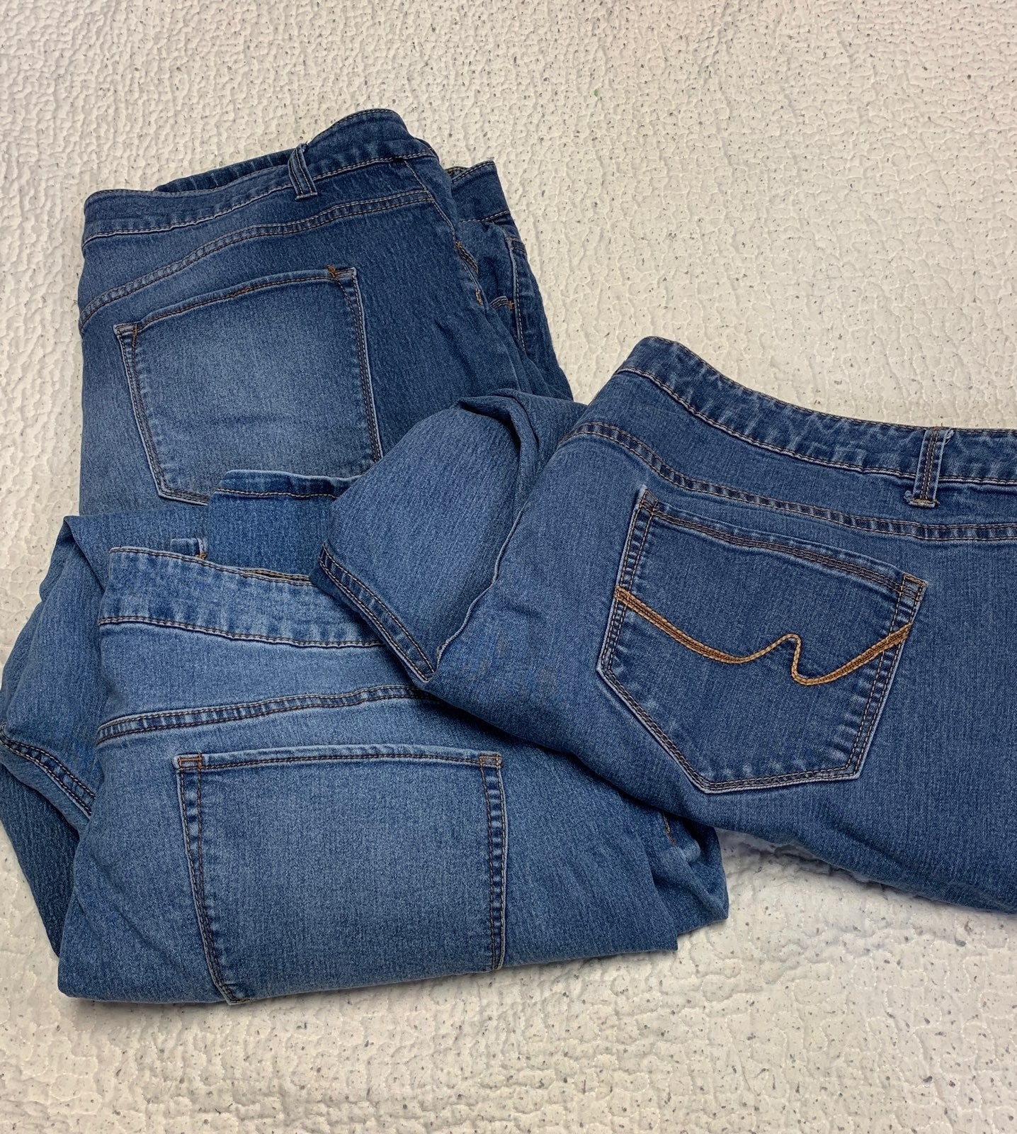 3 pair of 26W Jeans