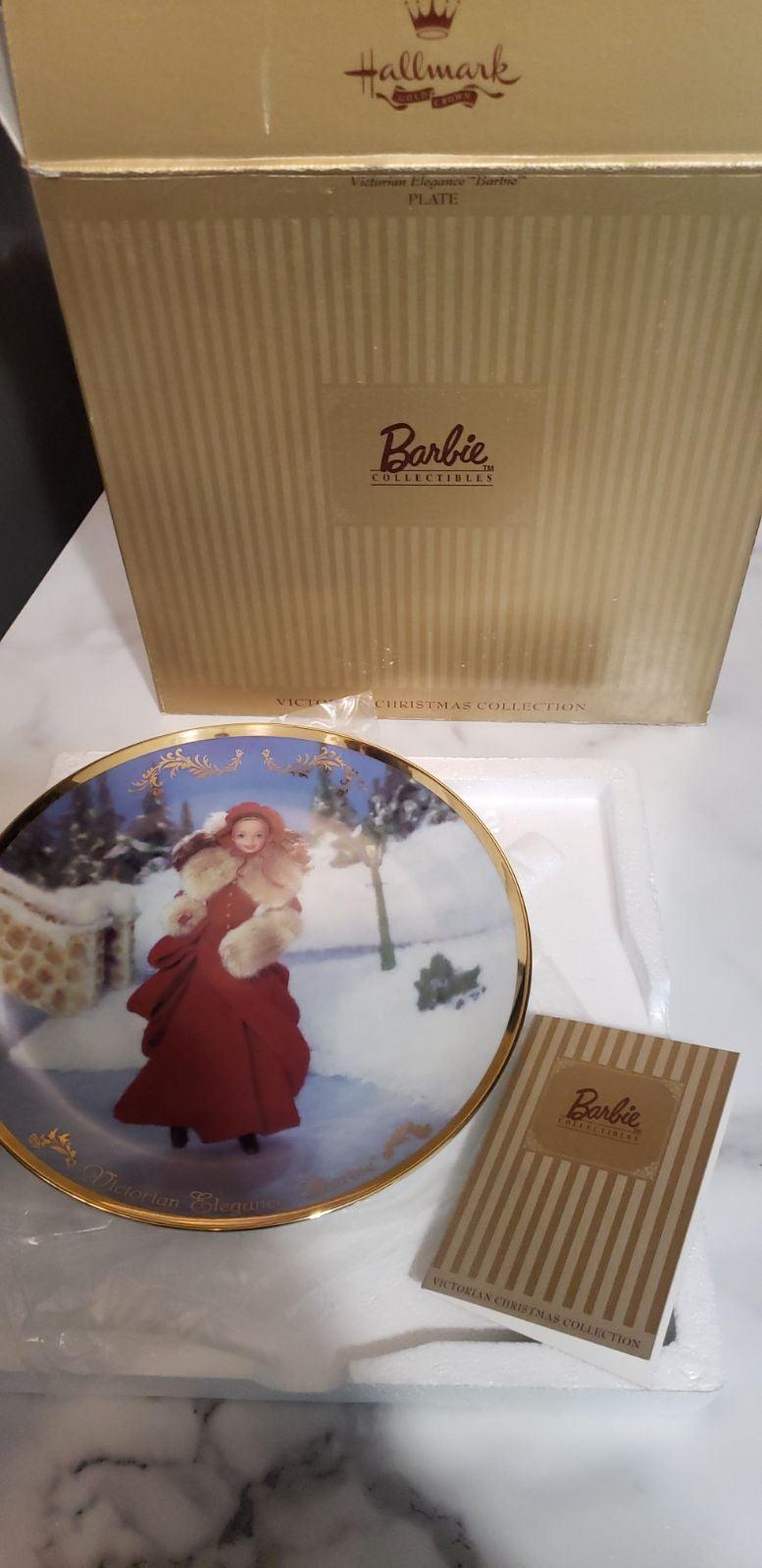 Lot of three Vintage Barbie Christmas Pl