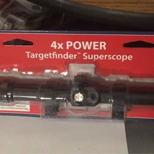 Airgun scope crosman targetfinder 4x