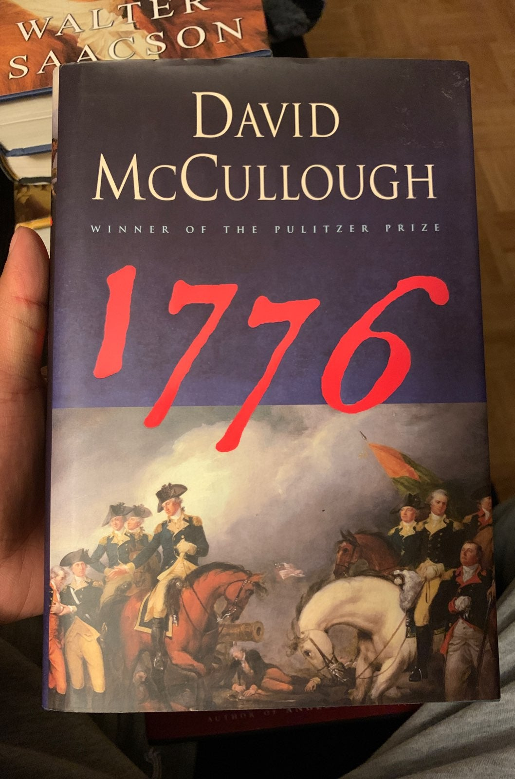 1776 hard cover book by david mccullough