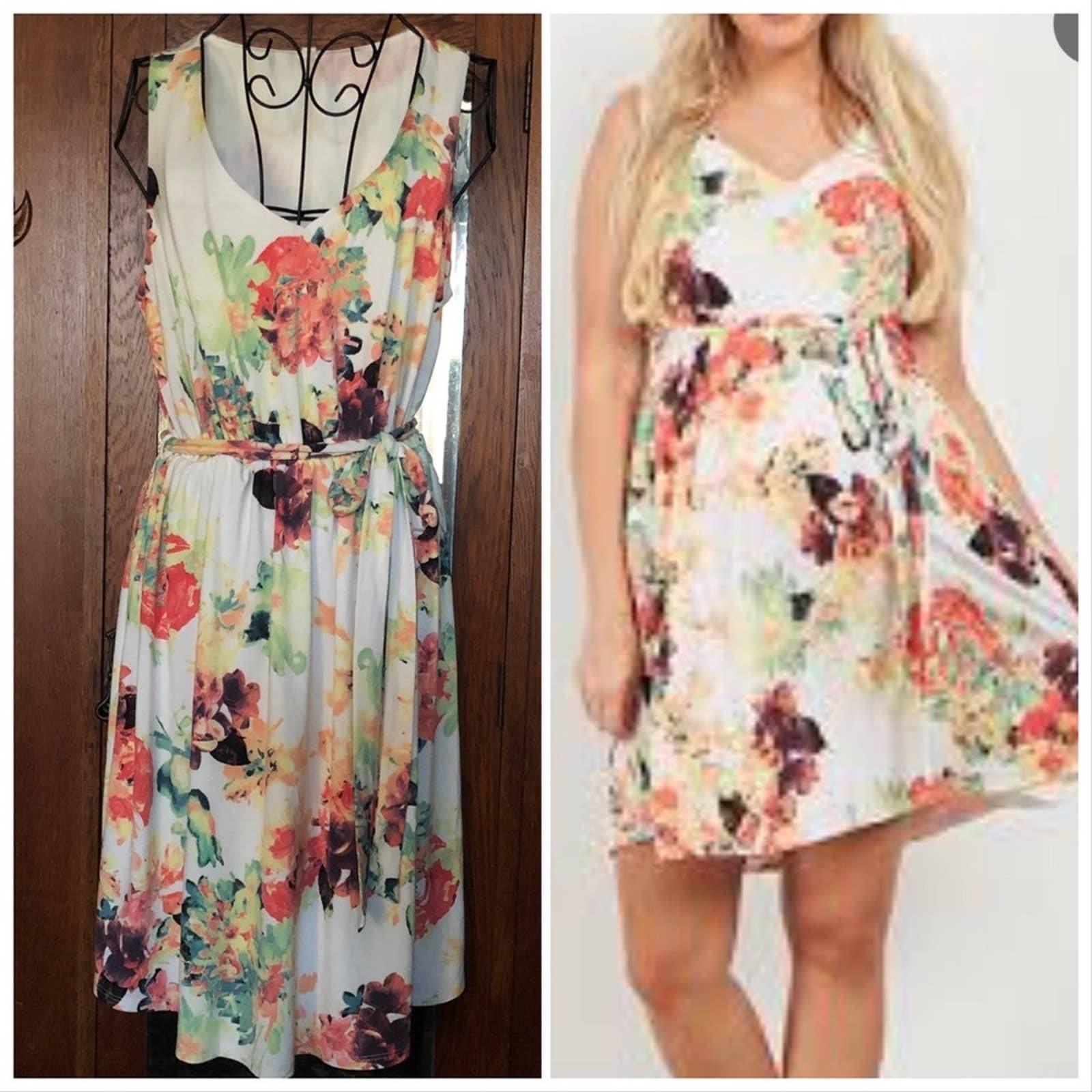 NWT Pinkblush Maternity Floral Dress
