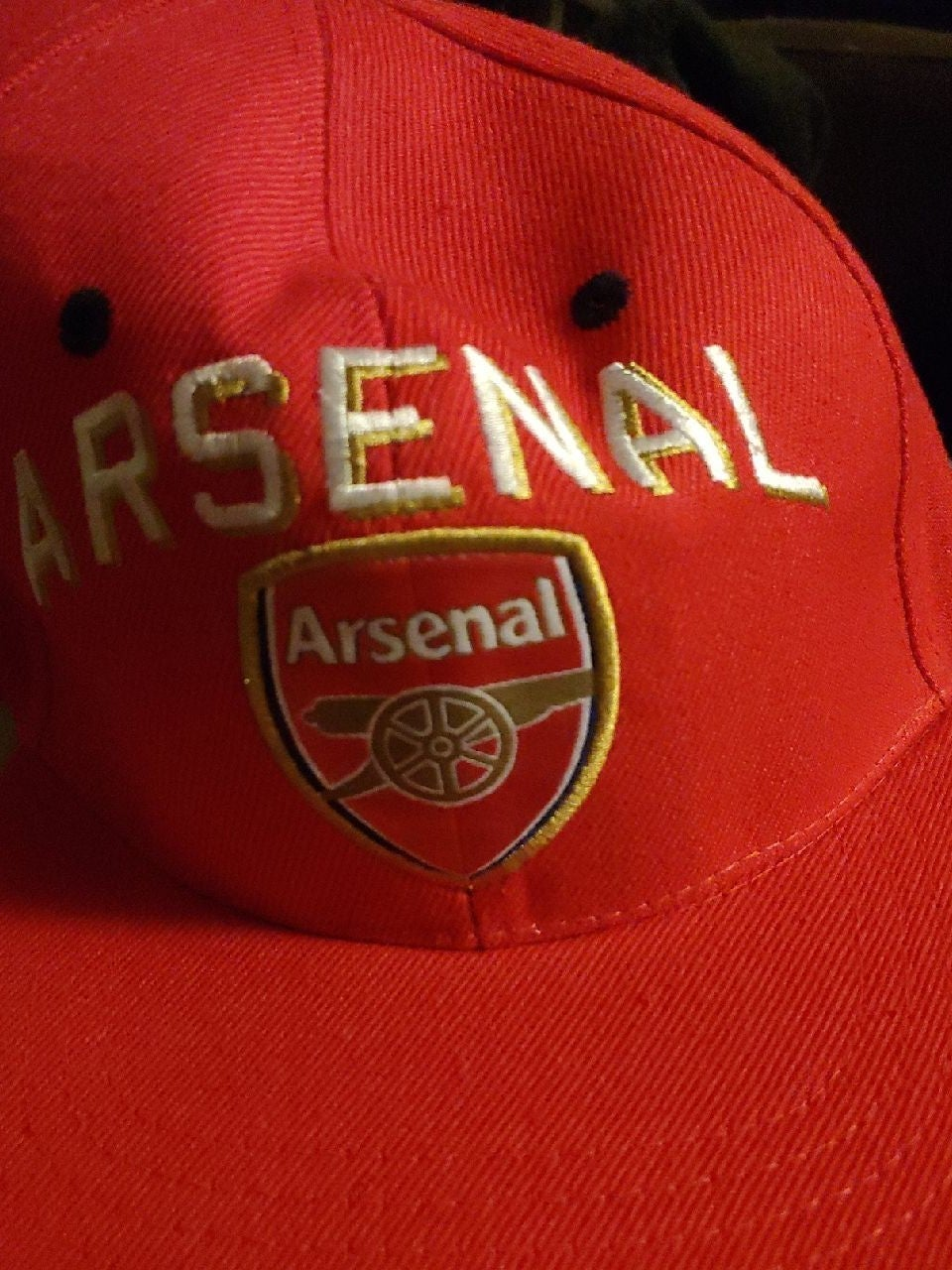 ARSENAL one size fits all adjustable hat