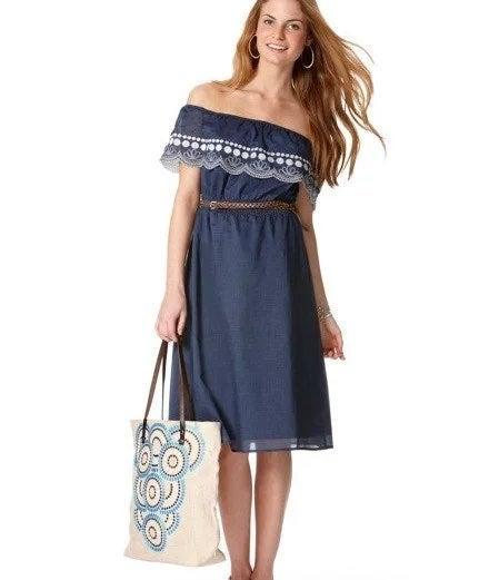 Calypso St. Barth Off-the-Shoulder Dress