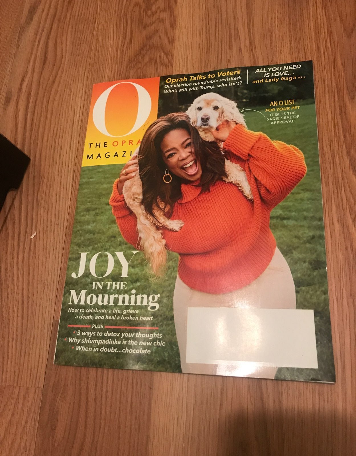 Oprah Magazine October 2020