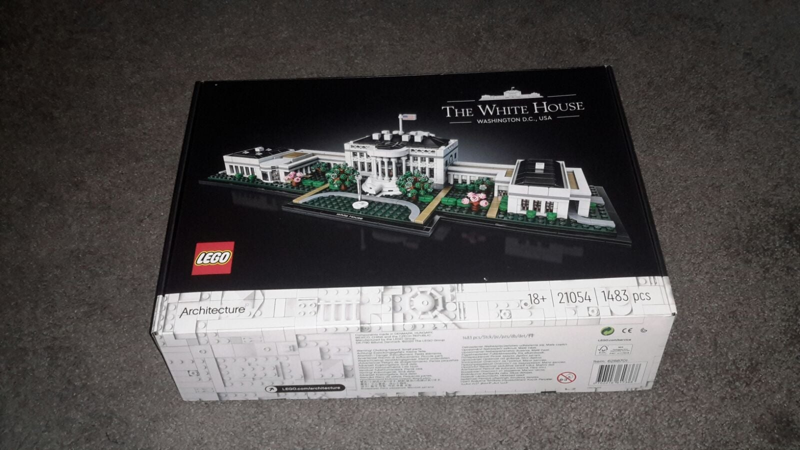 LEGO Architecture white house box