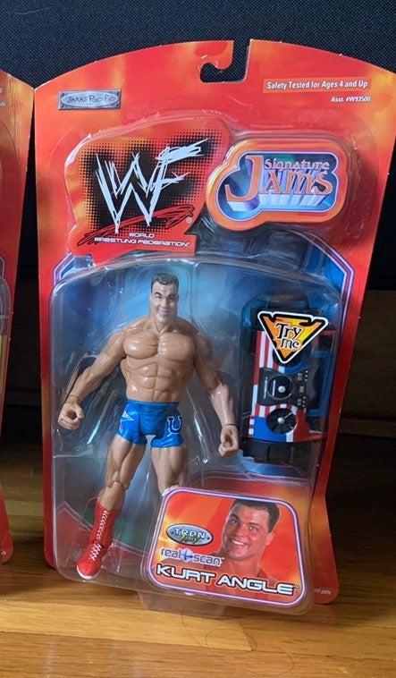 WWF Signature Kurt Angle
