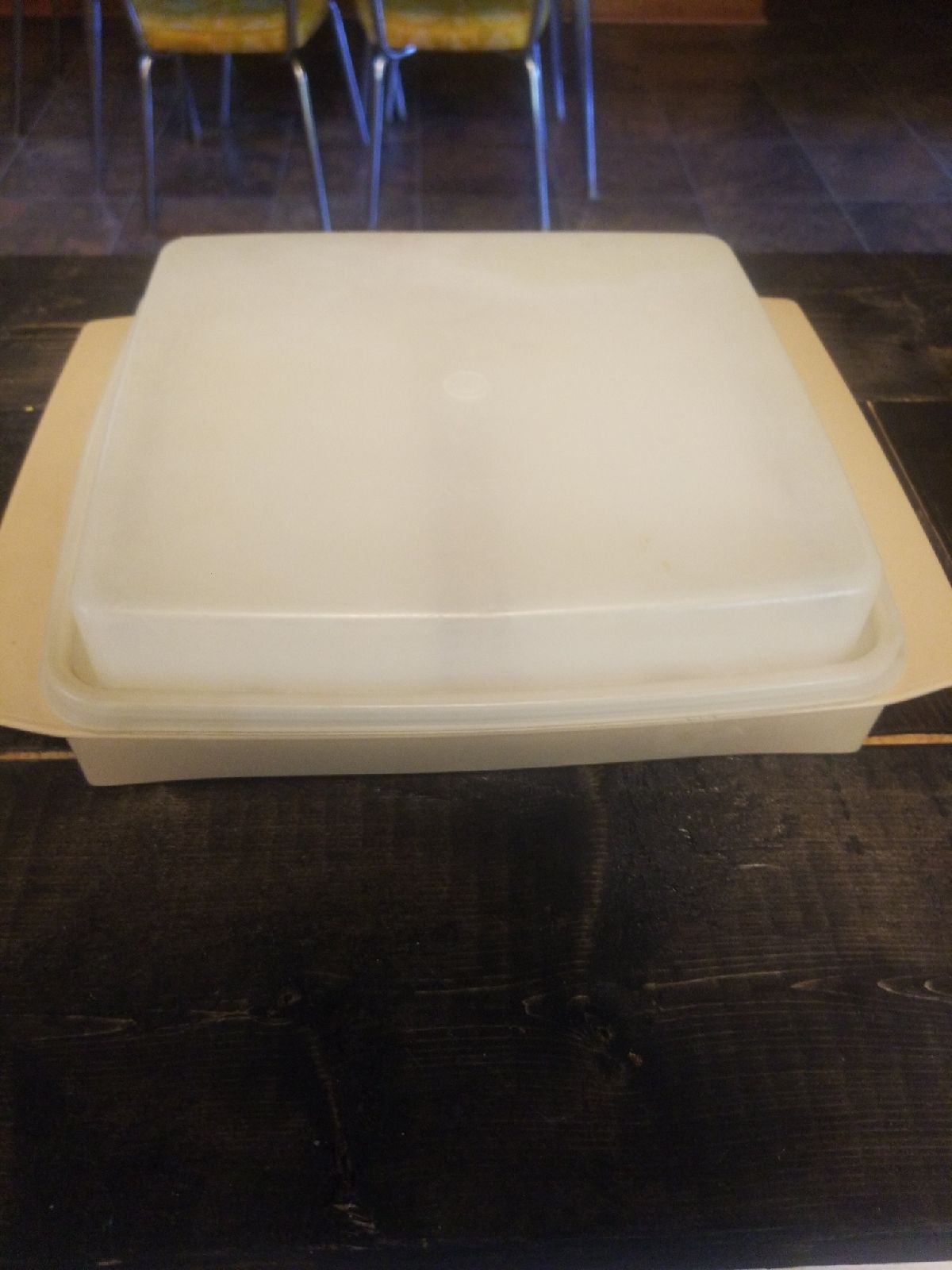 Vintage Tupperware deviled egg holder