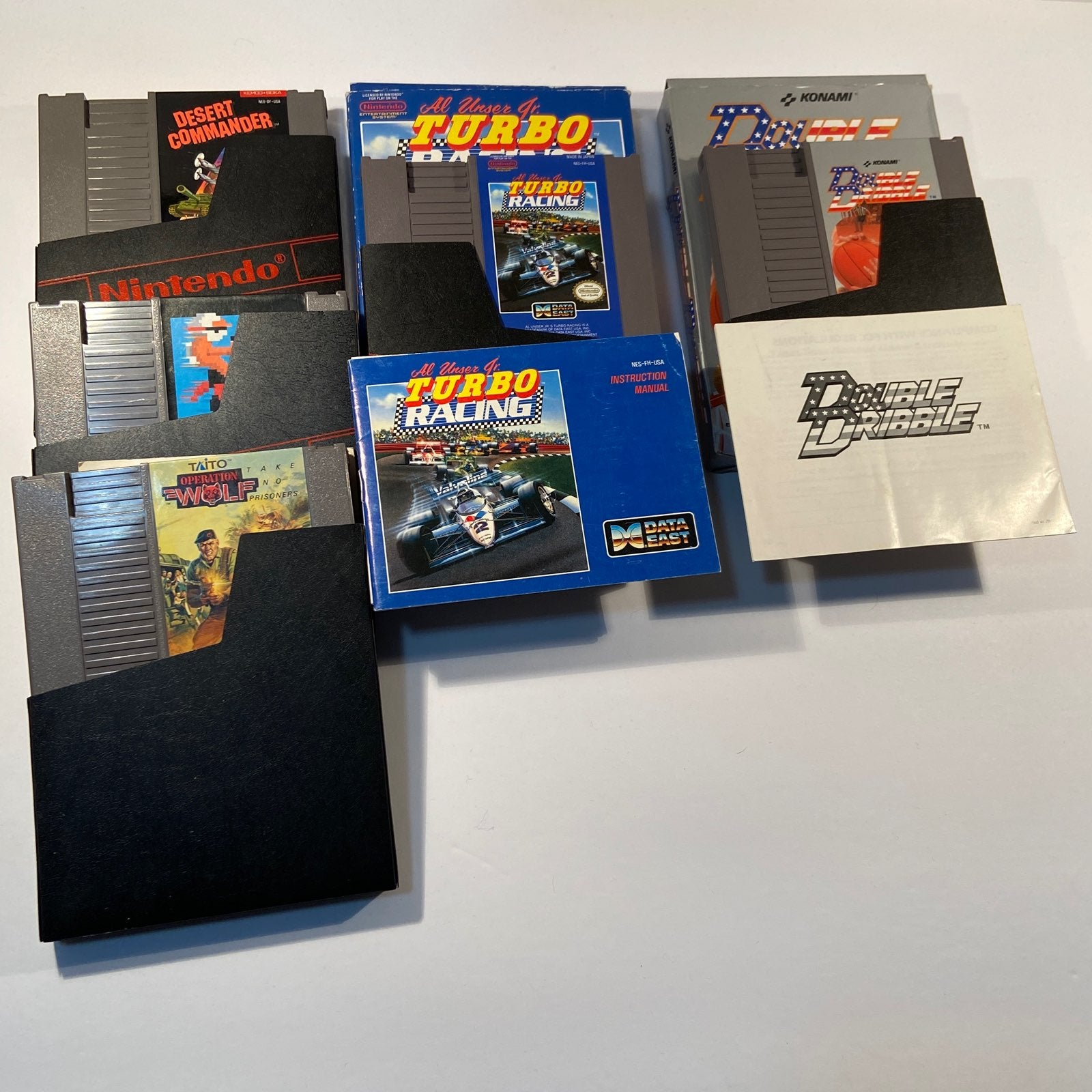NINTENDO NES GAME Lot (Tested, All work)