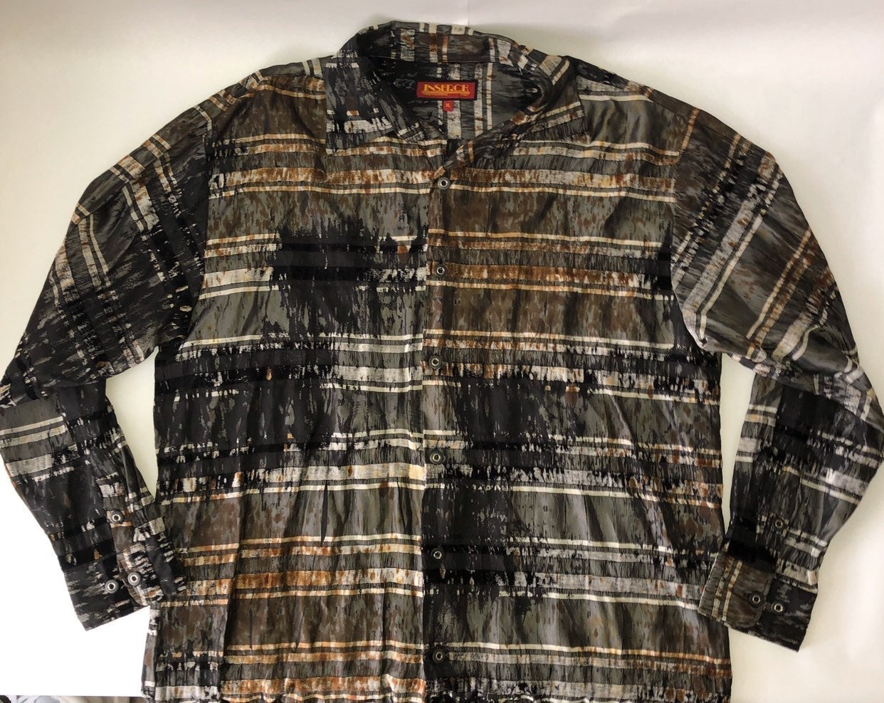 Inserch Italy Button up Shirt Size XL