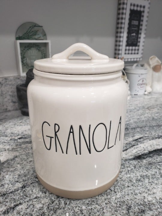 Rae Dunn Granola Canister Collection