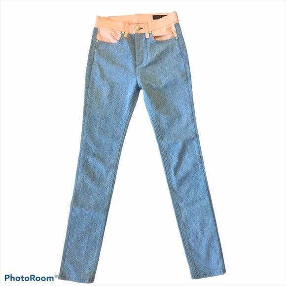 Rag & Bone Phila Skinny Color Block Jean