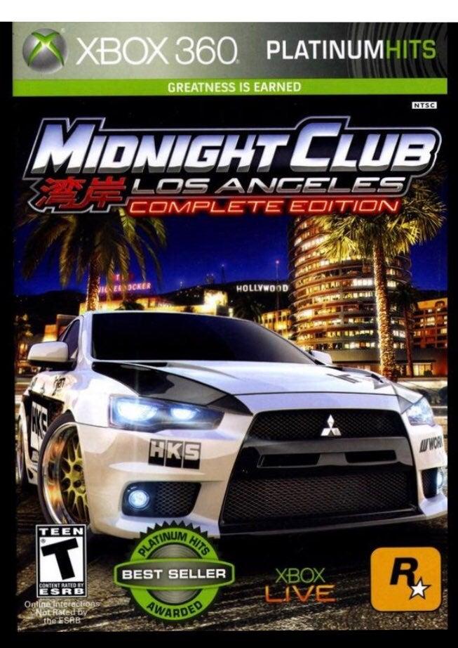 Midnight Club Los Angeles Xbox