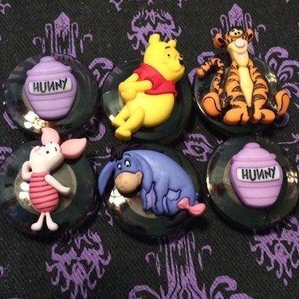 Disney Winnie The Pooh Magnets Handmade