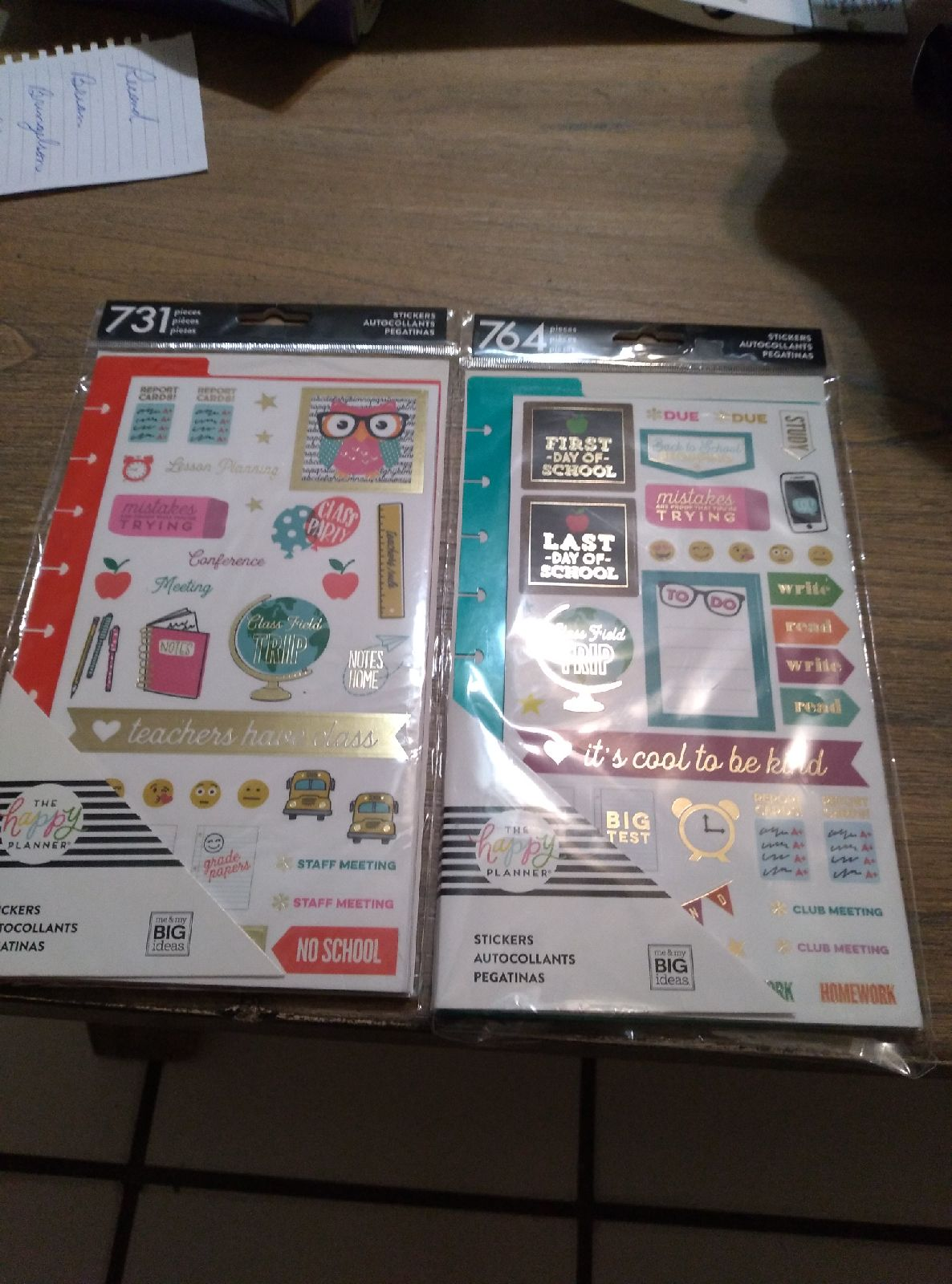 The happy planner Stickers