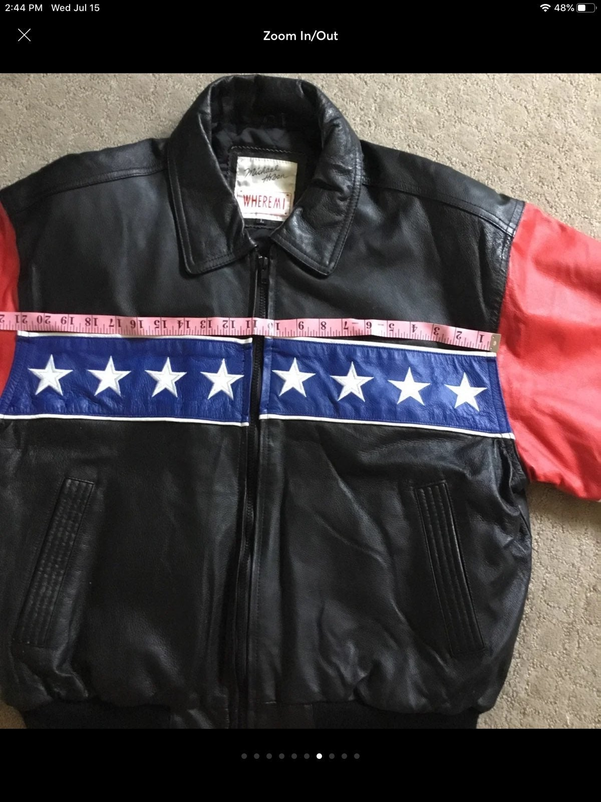Micheal hobon Leather Jacket