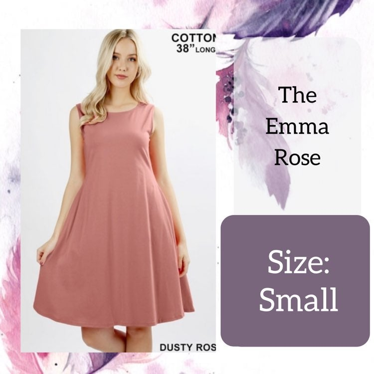 Small Rose Emma Work Dress
