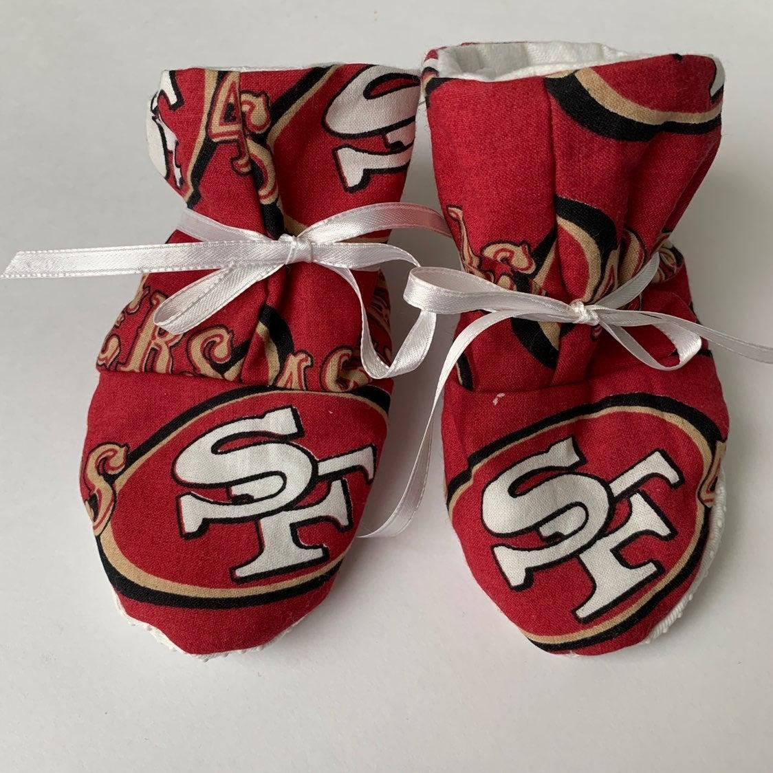 Handmade SF baby booties