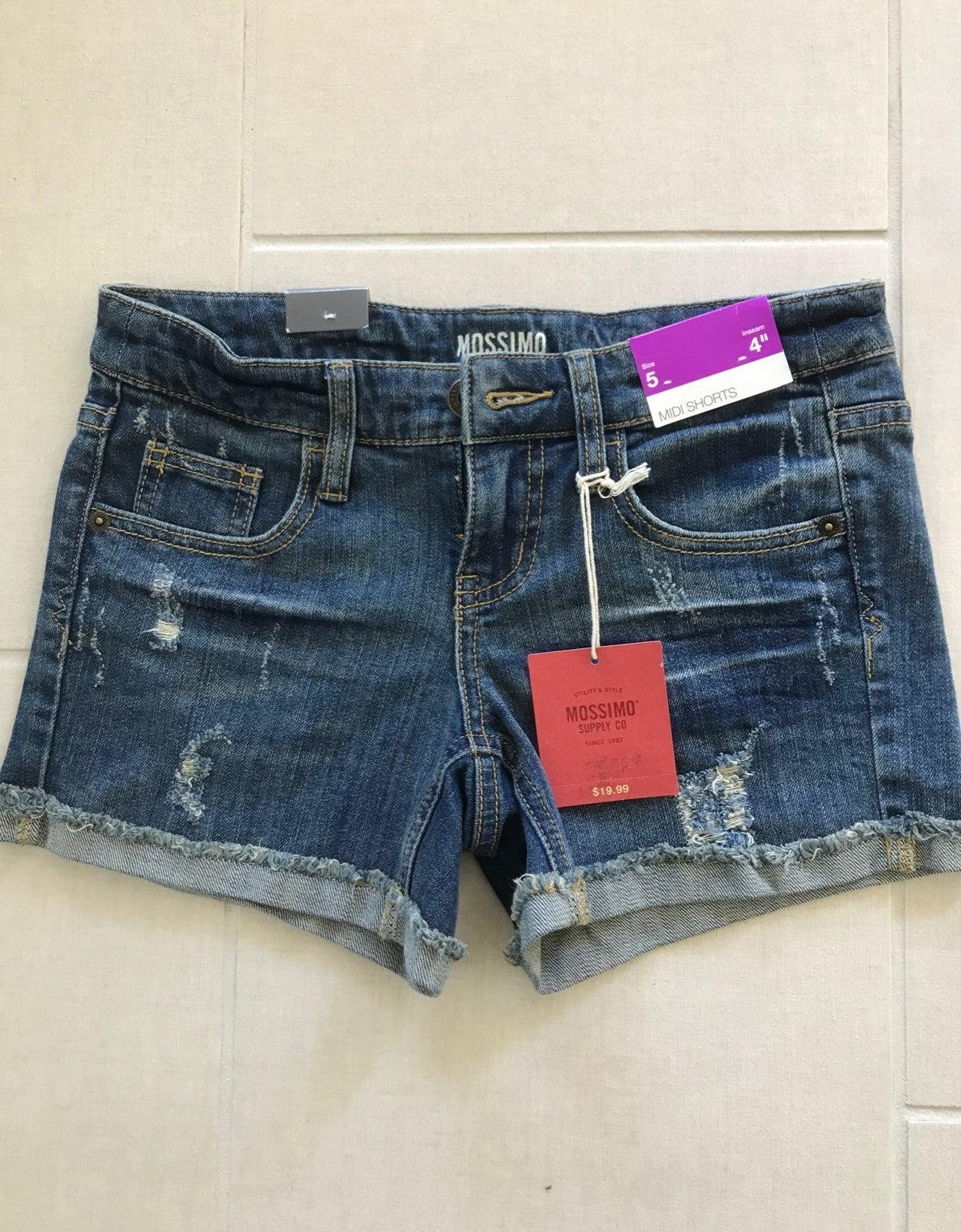 Jean Shorts, khaki shorts, blue shorts