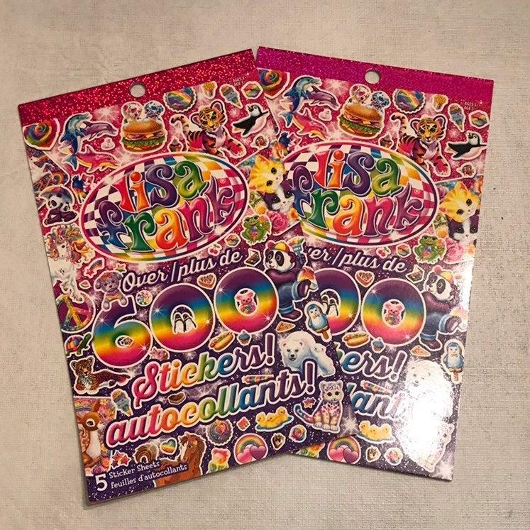 2 Lisa Frank Stickers (600+)
