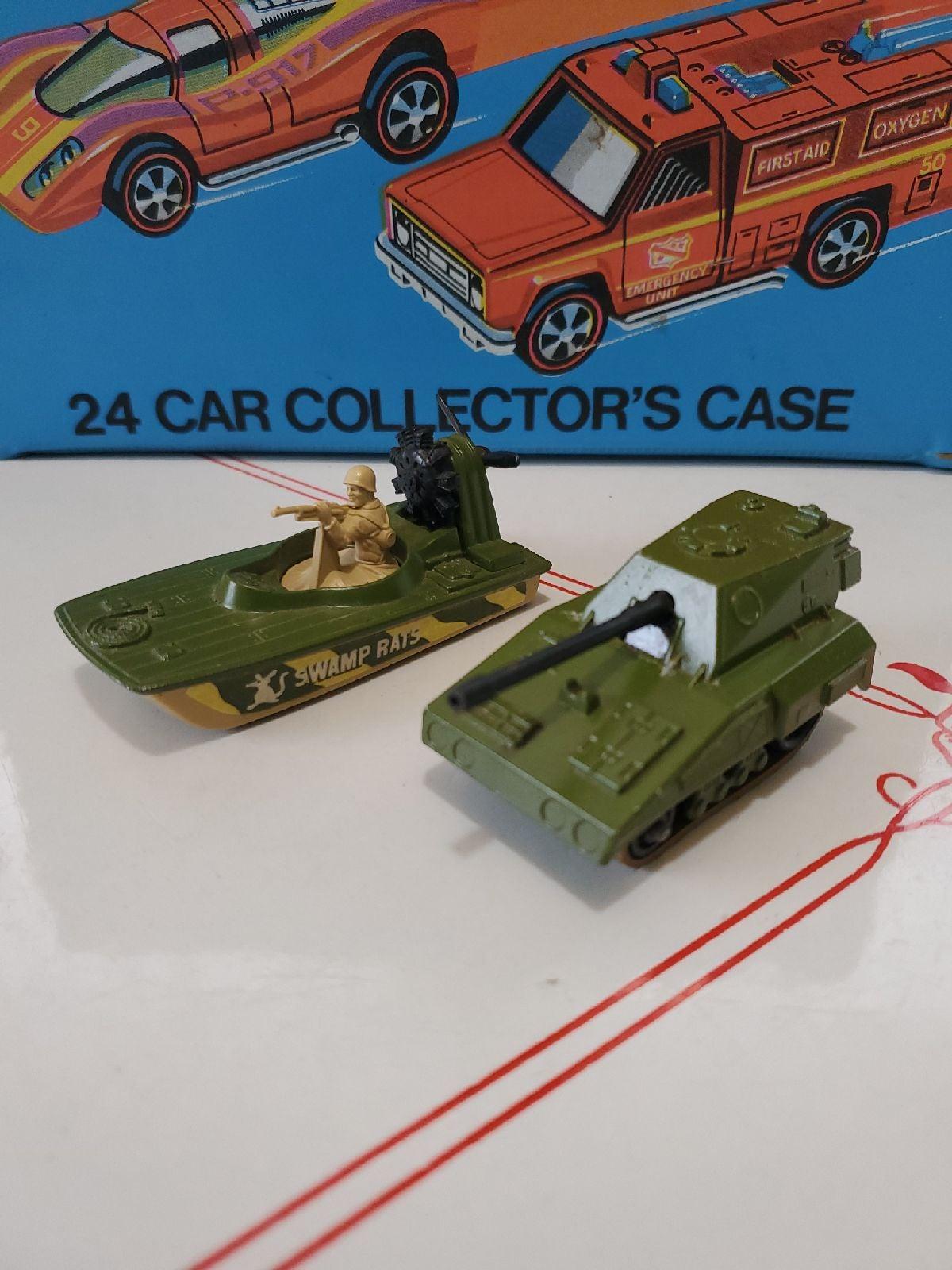 1976 matchbox lesney sp gun and swamp ra