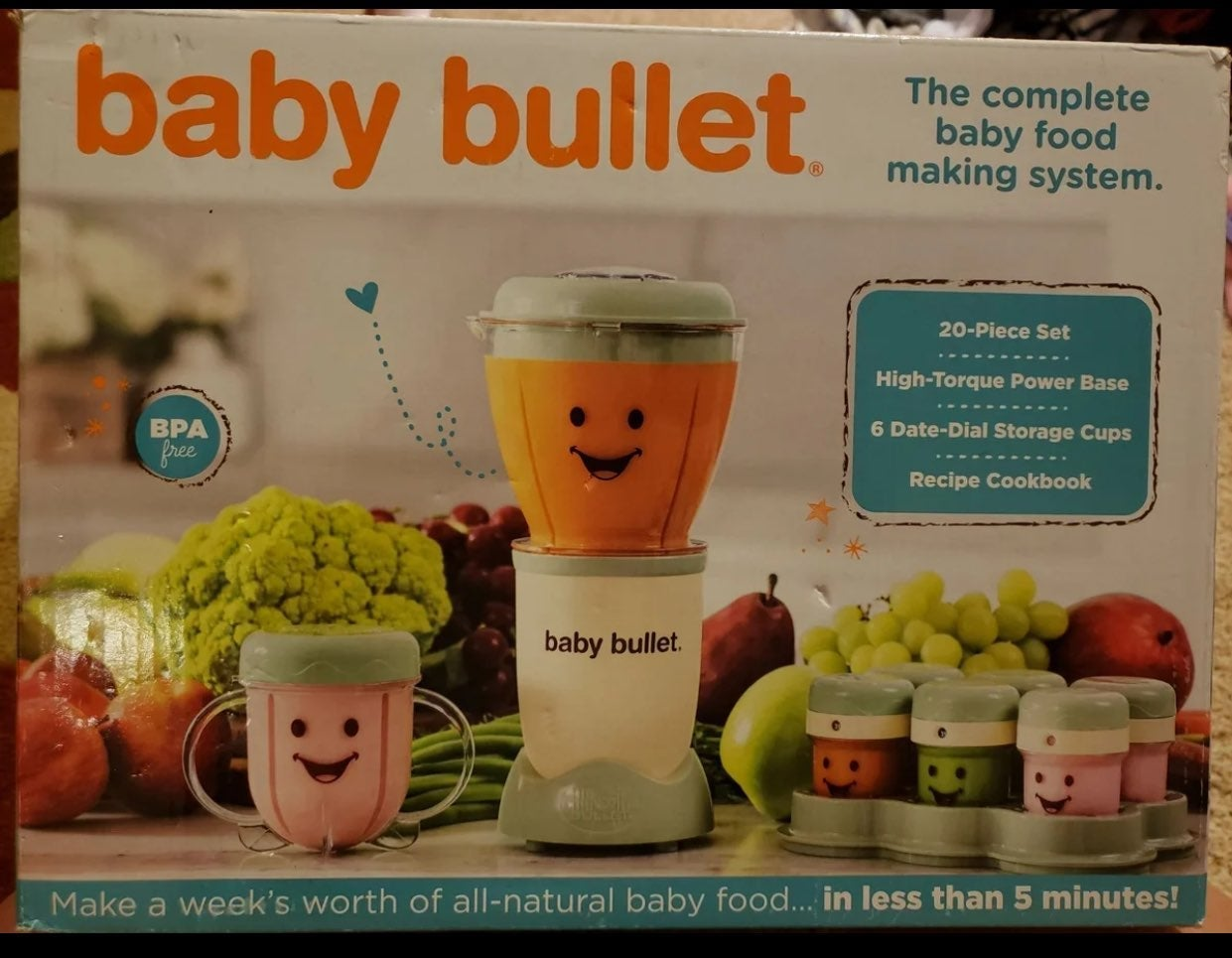 Magic Bullet Baby Bullet NEW