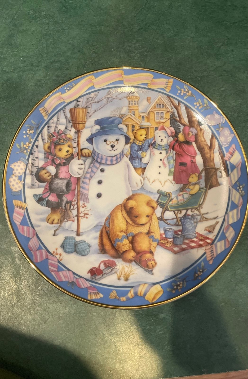 Franklin Mint Royal Doulton  Teddy Bear