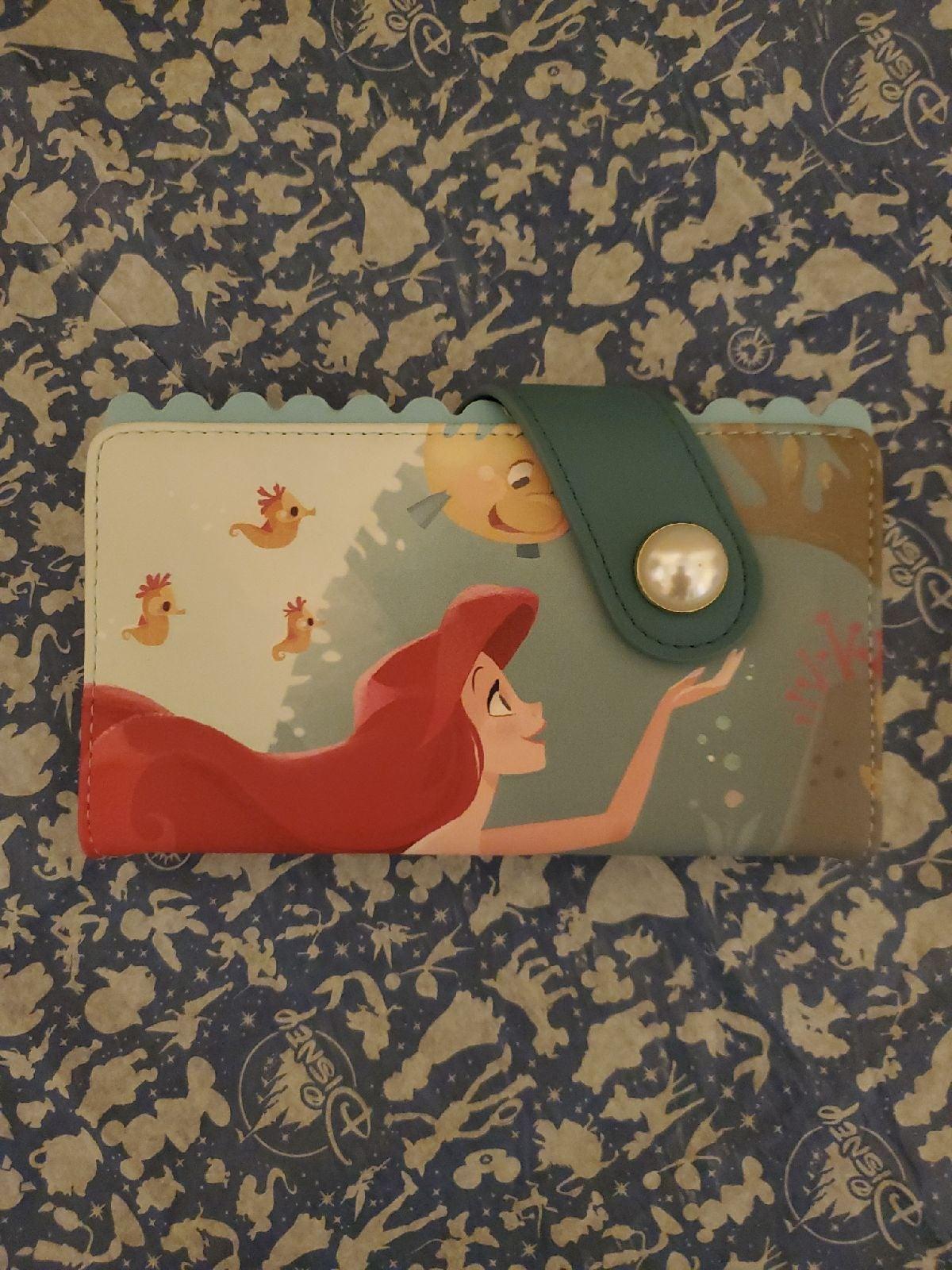 Loungefly Disney Wallet Mermaid