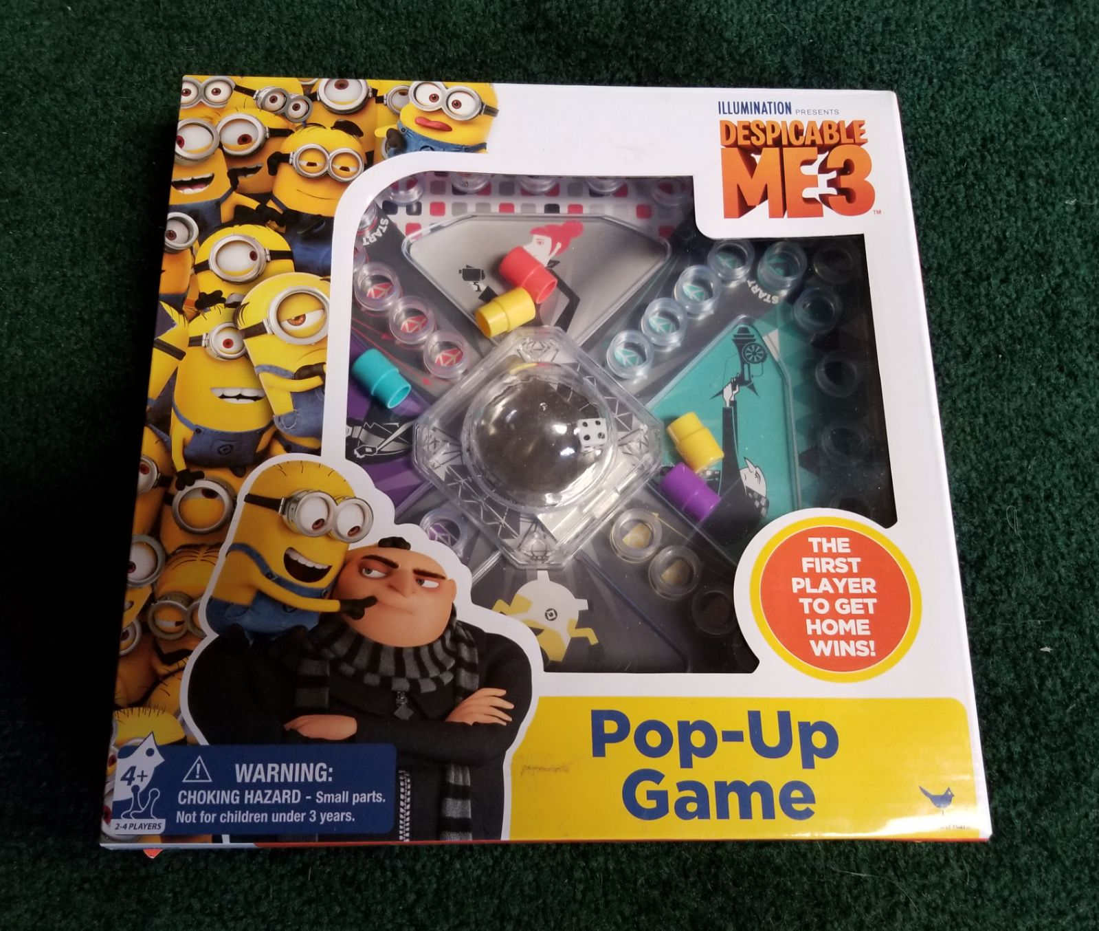 Despicable Me Themed Trouble Game
