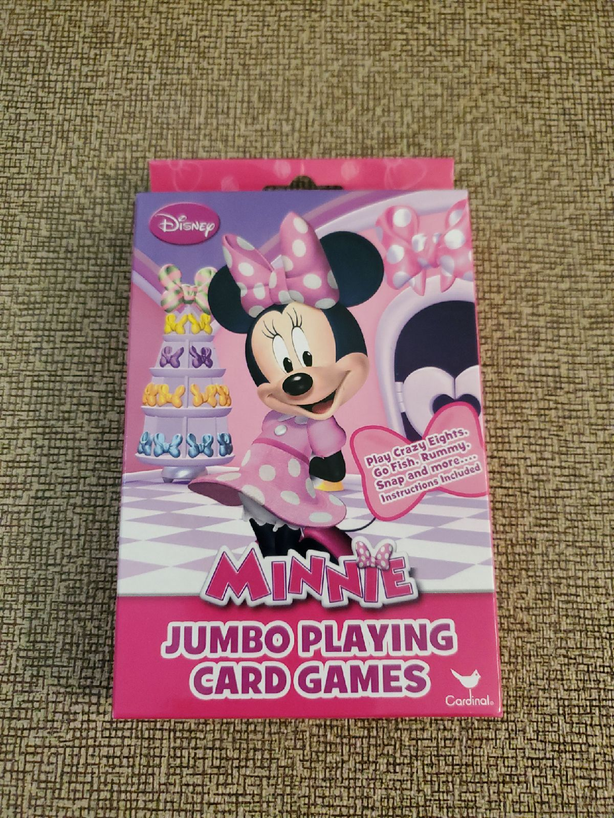 Minnie Mouse Jumbo Playing Cards