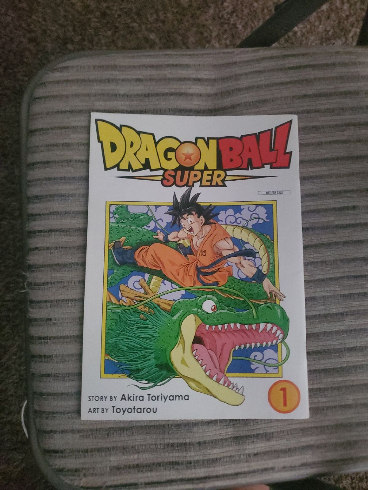Two volumes in one dragon ball!