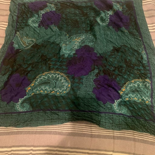 Silk Christian Dior scarf