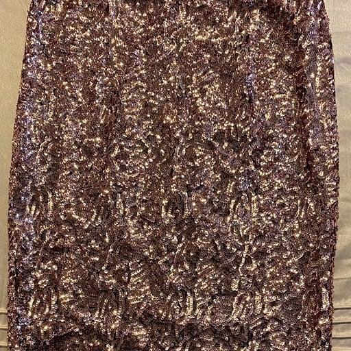 Rose gold Sequin Skirt