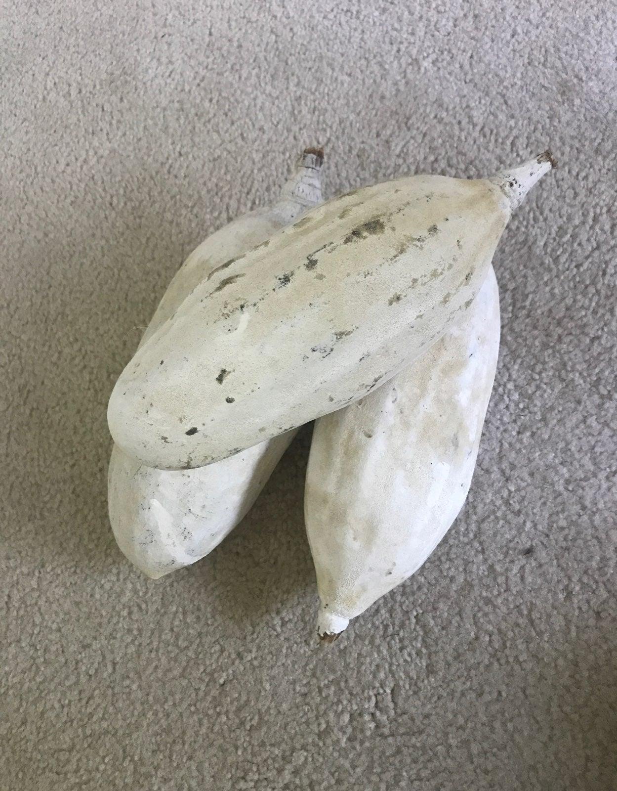Set of 3 Pottery Barn Decrotive Gourds