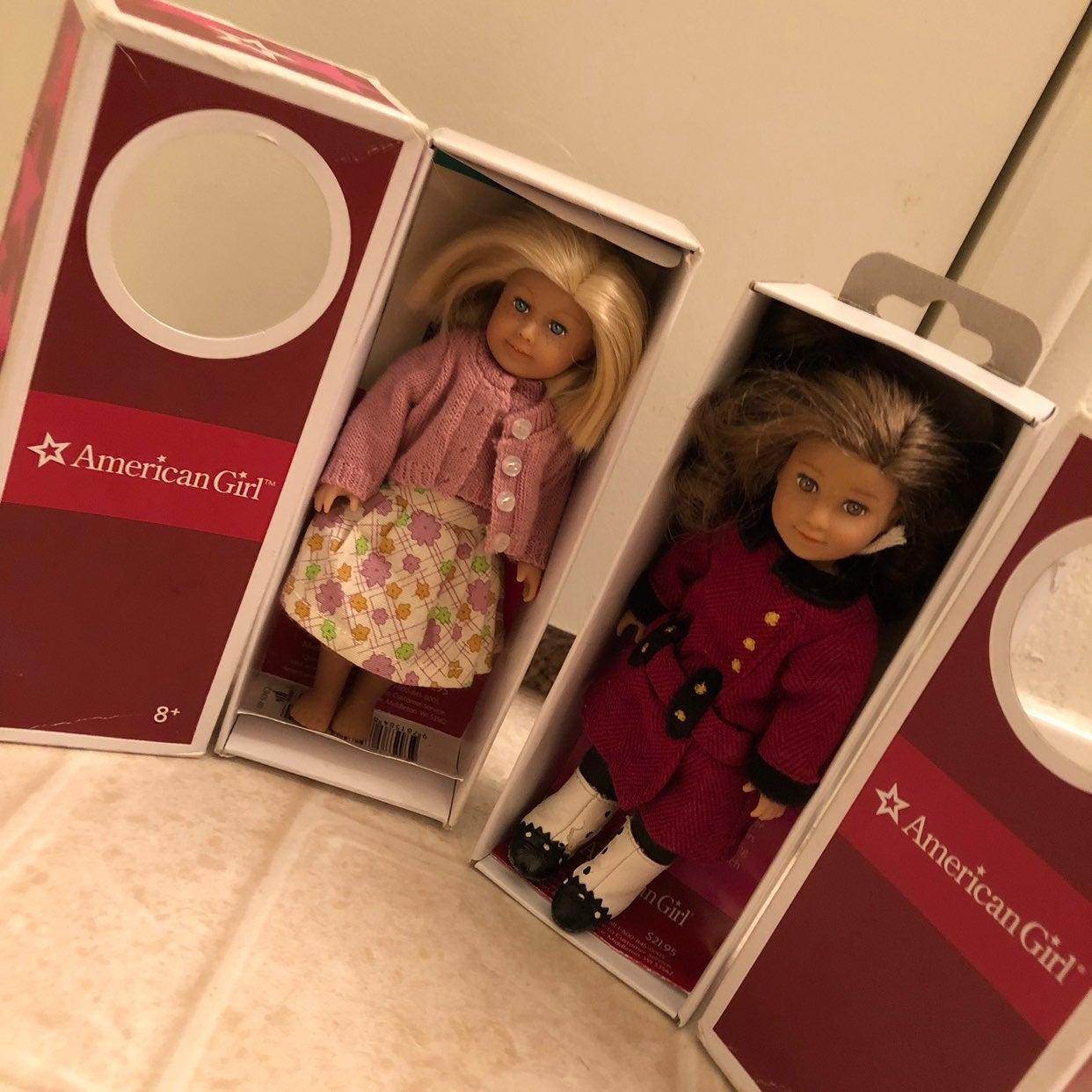 American Girl Doll Mini Pack of 2