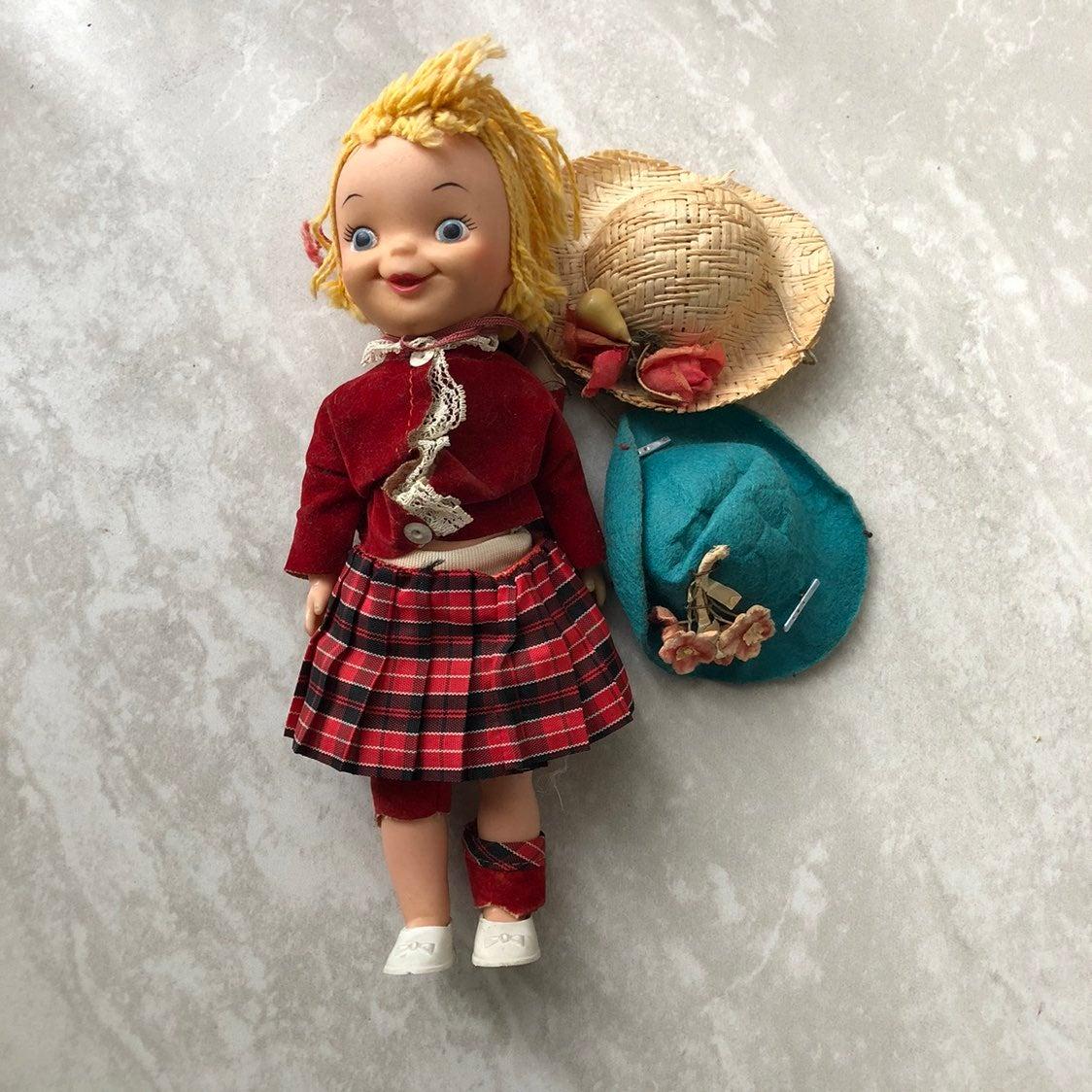 Vintage Disney 1965 Small World Doll