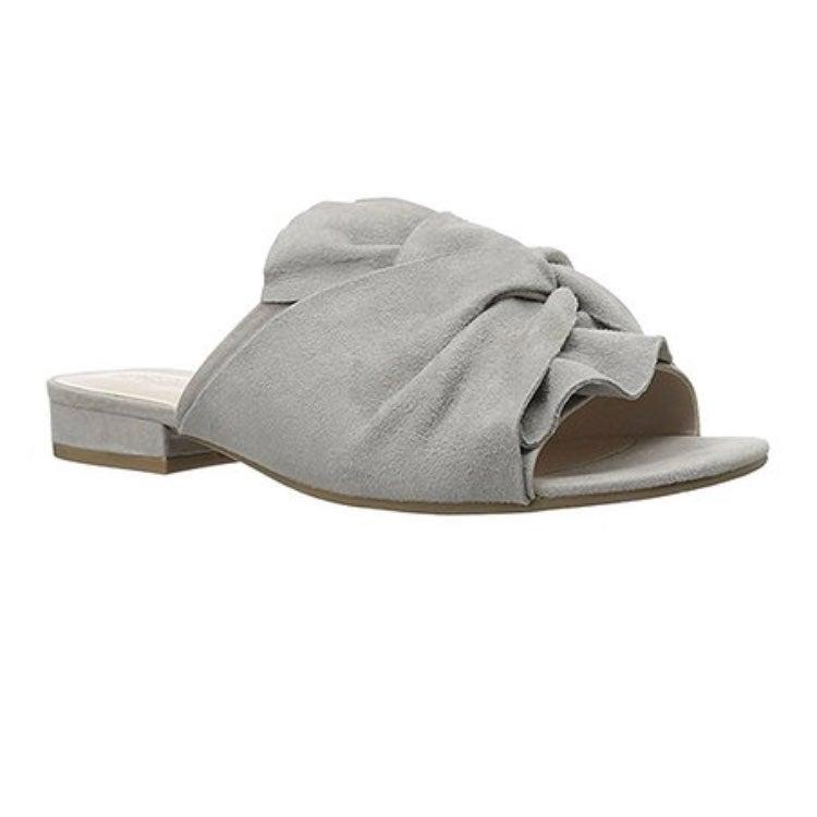 Vanya Bow Slide Sandals-NWOT