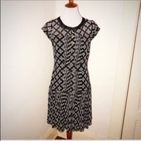 4621c41f3e5cb Alice Temperley Print Drop Waist Dress 8